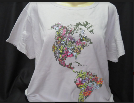 Picture of Orchid Contest 2020 T-Shirt: 2X - 3X